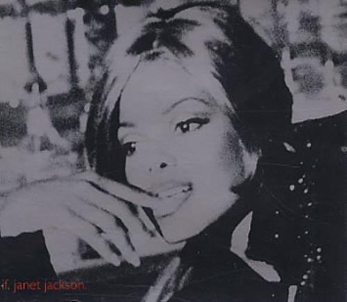 Janet Jackson If UK CD single (CD5 / 5