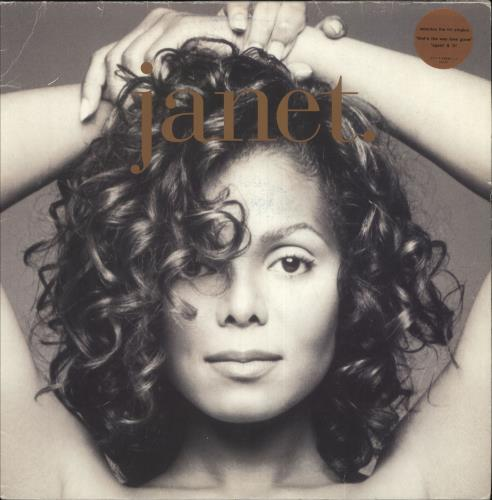 Janet Jackson Janet - VG 2-LP vinyl record set (Double Album) UK J-J2LJA748016