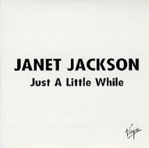 "Janet Jackson Just A Little While CD single (CD5 / 5"") Spanish J-JC5JU280666"