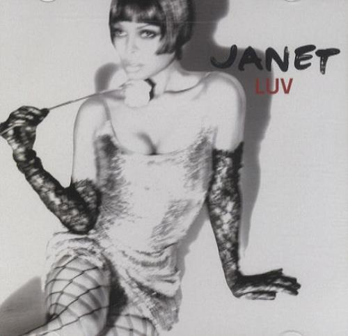 "Janet Jackson Luv CD single (CD5 / 5"") US J-JC5LU429755"