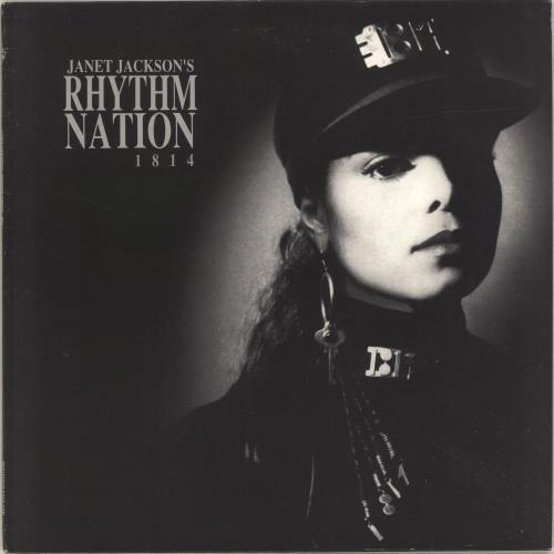 Janet Jackson Rhythm Nation vinyl LP album (LP record) UK J-JLPRH240897