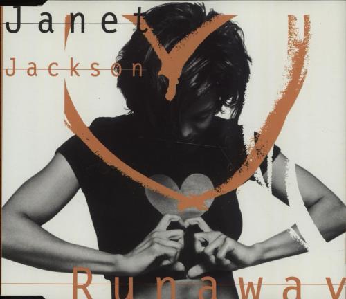 "Janet Jackson Runaway CD single (CD5 / 5"") Australian J-JC5RU52590"