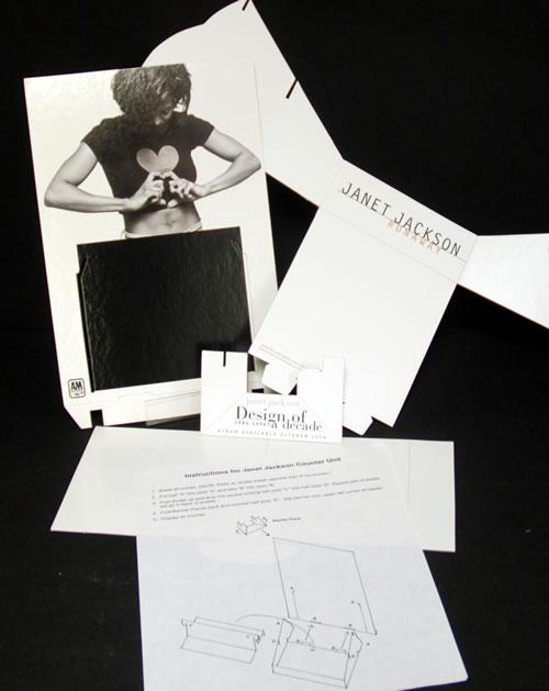 Janet Jackson Runaway display US J-JDIRU68788