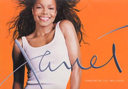 "Janet Jackson Someone To Call My Lover - in sales presenter CD single (CD5 / 5"") French J-JC5SO199682"