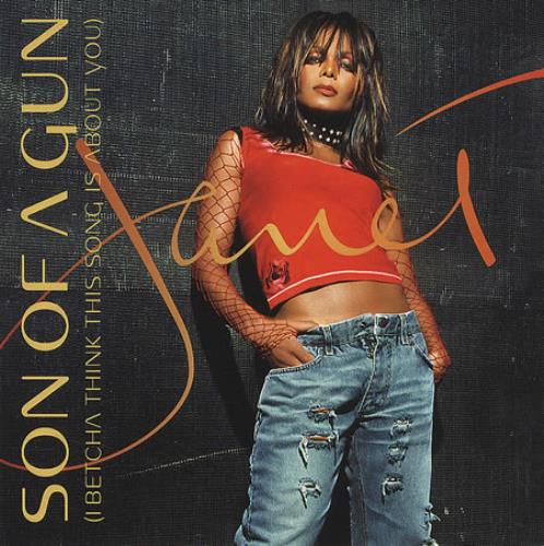 """Janet Jackson Son Of A Gun - I Betcha Think This Song Is About You CD single (CD5 / 5"""") UK J-JC5SO201152"""