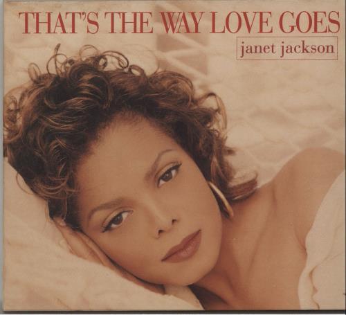"Janet Jackson That's The Way Love Goes - Digipak CD single (CD5 / 5"") UK J-JC5TH17356"