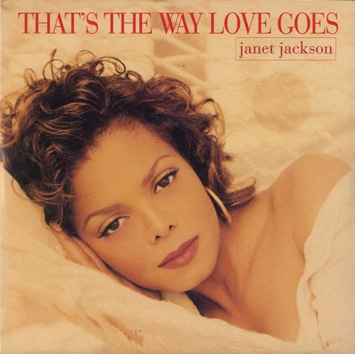 "Janet Jackson That's The Way Love Goes 7"" vinyl single (7 inch record) UK J-J07TH100269"