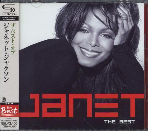 Janet Jackson The Best + Obi SHM CD Japanese J-JHMTH773681