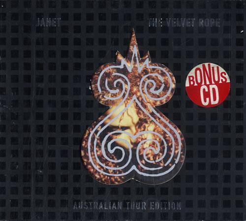 Janet Jackson The Velvet Rope + Bonus CD Australian 2 CD