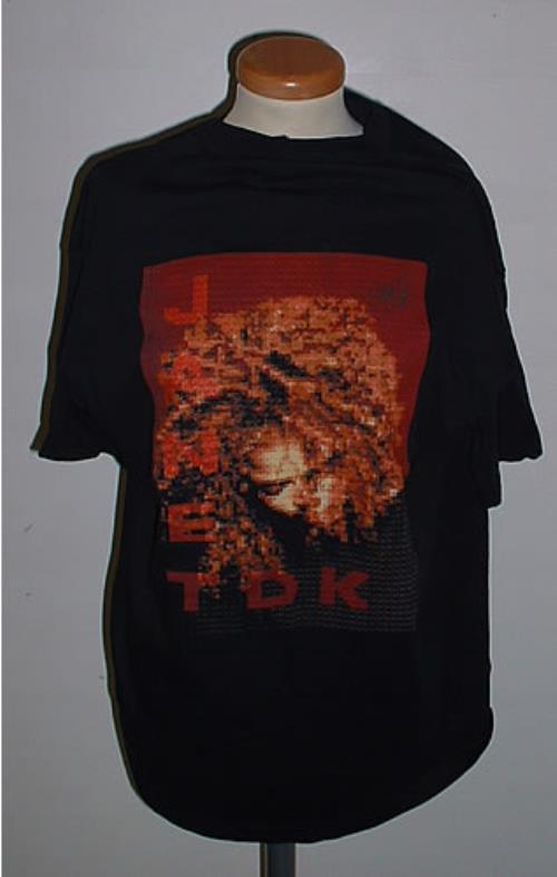 Janet Jackson The Velvet Rope Tour UK t-shirt (334225)
