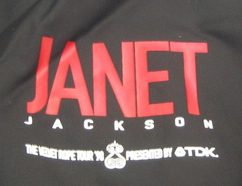 Janet Jackson The Velvet Rope Tour US Promo jacket (368436)