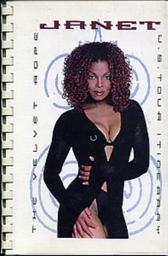 Janet Jackson The Velvet Rope U S  Tour Itinerary US Promo