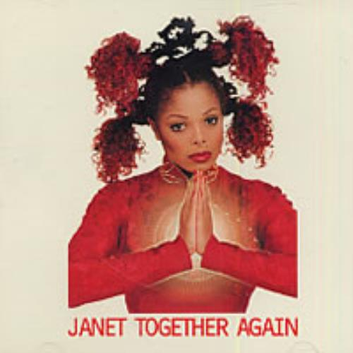 "Janet Jackson Together Again CD single (CD5 / 5"") US J-JC5TO101890"