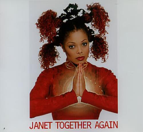 "Janet Jackson Together Again CD single (CD5 / 5"") Australian J-JC5TO98356"