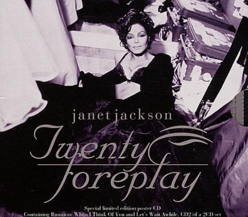 Janet Jackson Twenty Foreplay 2-CD single set (Double CD single) UK J-J2STW163404