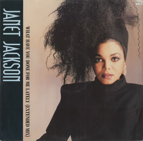 """Janet Jackson What Have You Done For Me Lately - Janet Sleeve 12"""" vinyl single (12 inch record / Maxi-single) UK J-J12WH265050"""