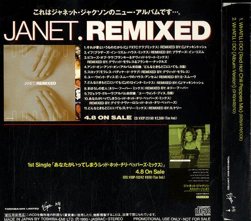 """Janet Jackson What'll I Do CD single (CD5 / 5"""") Japanese J-JC5WH97312"""
