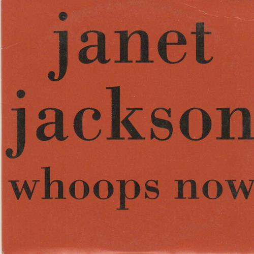 """Janet Jackson Whoops Now CD single (CD5 / 5"""") French J-JC5WH112590"""