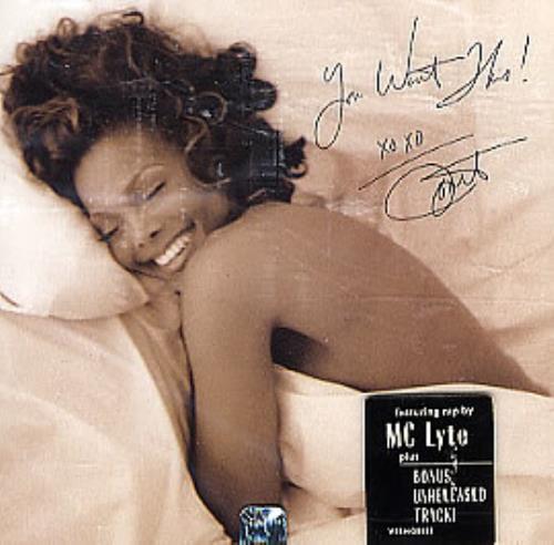 "Janet Jackson You Want This CD single (CD5 / 5"") US J-JC5YO36102"
