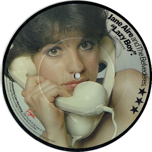 """Jane Aire & The Belvederes Call Me Every Night 7"""" vinyl picture disc 7 inch picture disc single UK JN-7PCA574230"""
