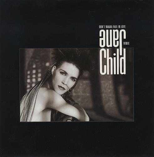 "Jane Child Don't Wanna Fall In Love 7"" vinyl single (7 inch record) UK CHL07DO235311"