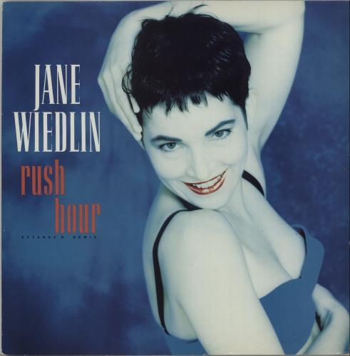 "Jane Wiedlin Rush Hour (Extended Remix) 12"" vinyl single (12 inch record / Maxi-single) UK WIE12RU17932"
