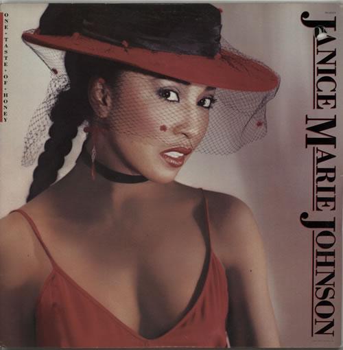 Janice Marie Johnson One Taste Of Honey vinyl LP album (LP record) US K2OLPON627796