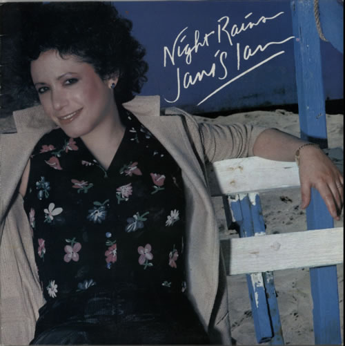 Janis Ian Night Rains vinyl LP album (LP record) UK J-ILPNI607582