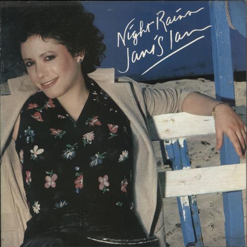 Janis Ian Night Rains vinyl LP album (LP record) Dutch J-ILPNI721874