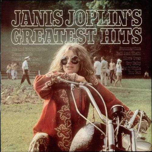 Janis Joplin Greatest Hits UK vinyl LP album (LP record)