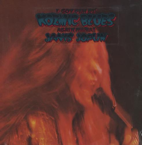 Janis Joplin I Got Dem Ol' Kozmic Blues Again Mama - Sealed vinyl LP album (LP record) US JNJLPIG202589