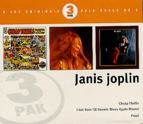 Janis Joplin Janis Joplin - 3 CD Set Brazilian 3-CD album