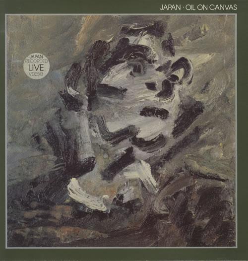 Japan Oil On Canvas - Stickered sleeve 2-LP vinyl record set (Double Album) UK JAP2LOI143562