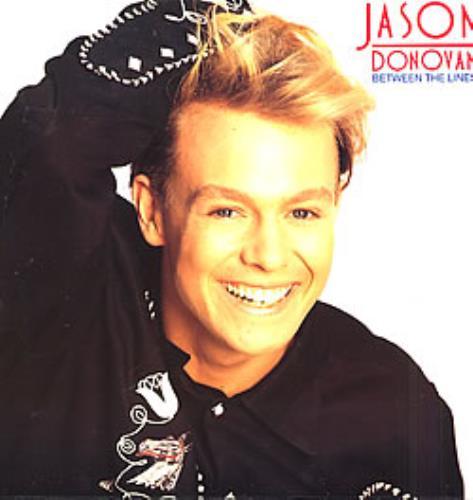 Jason Donovan Between The Lines vinyl LP album (LP record) UK DONLPBE266336