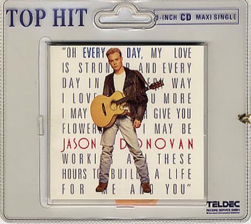 "Jason Donovan Every Day (I Love You More) 3"" CD single (CD3) German DONC3EV113922"