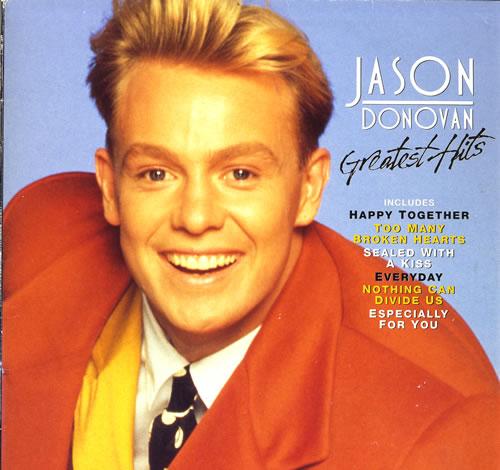 Jason Donovan Greatest Hits vinyl LP album (LP record) UK DONLPGR245174