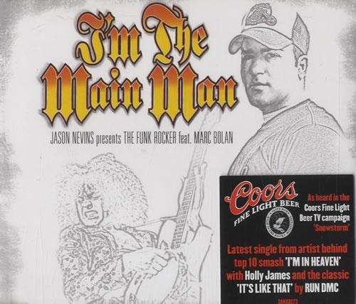 """Jason Nevins I'm The Main Man CD single (CD5 / 5"""") UK JNVC5IM505876"""