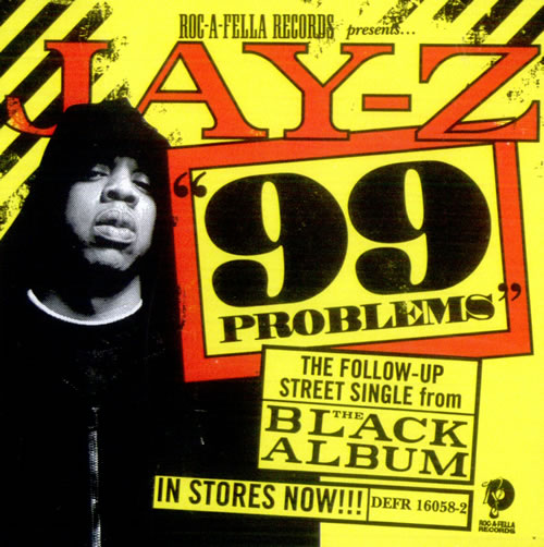 Jay z 99 problems us promo cd single cd5 5 520644 jay z 99 problems cd single cd5 5 us jyzc5pr520644 malvernweather Choice Image