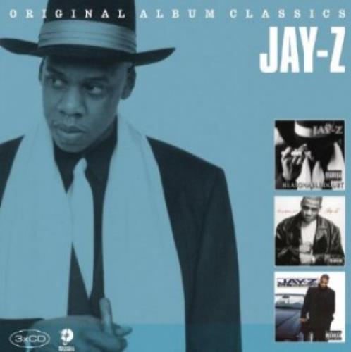 Jay Z Original Album Classics 3 CD Album Set (Triple CD) UK