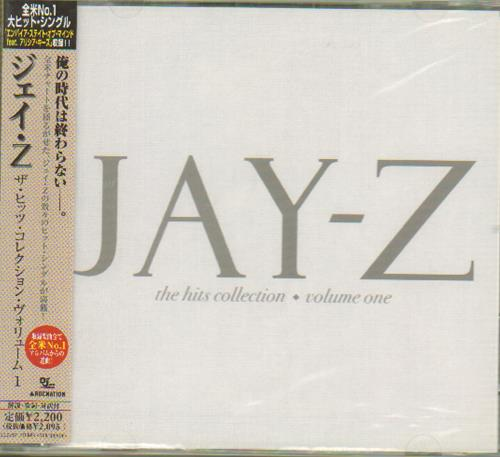 Jay z the hits collection volume 1 obi sealed japanese promo jay z the hits collection volume 1 obi sealed cd album malvernweather Image collections