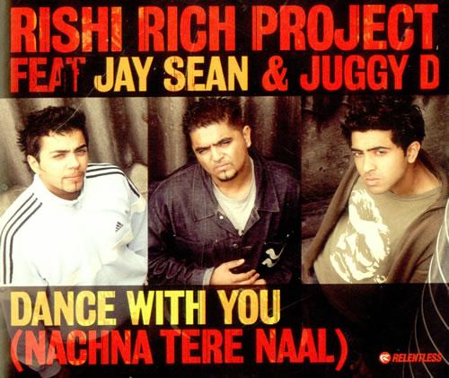 """Jay Sean Dance With You [Nachna Tere Naal] CD single (CD5 / 5"""") UK JVHC5DA500373"""