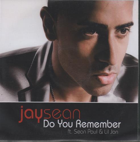Jay Sean Do You Remember CD-R acetate UK JVHCRDO669551