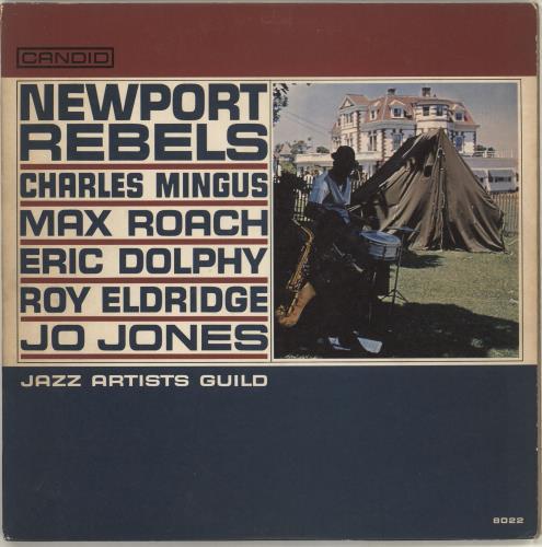 Jazz Artists Guild Newport Rebels - EX vinyl LP album (LP record) US J60LPNE715556