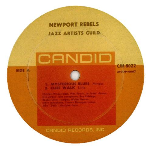 Jazz Artists Guild Newport Rebels vinyl LP album (LP record) US J60LPNE541136