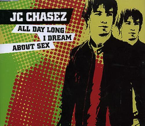 """JC Chasez All Day Long I Dream About Sex CD single (CD5 / 5"""") UK JCZC5AL291279"""