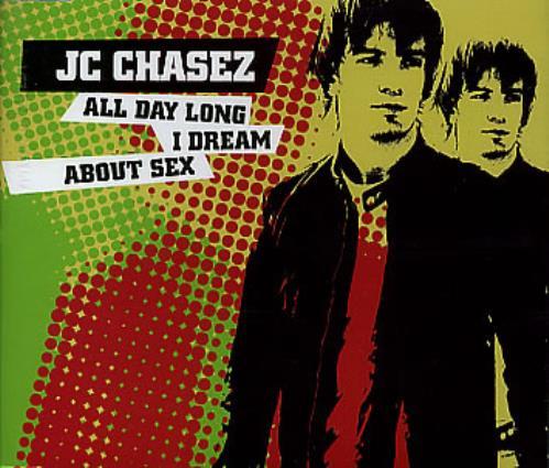 """JC Chasez All Day Long I Dream About Sex CD single (CD5 / 5"""") UK JCZC5AL297525"""