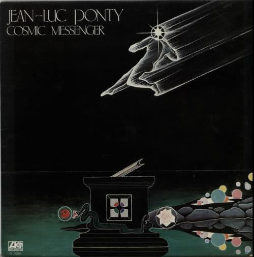 Jean-Luc Ponty Cosmic Messenger vinyl LP album (LP record) UK JA7LPCO615541