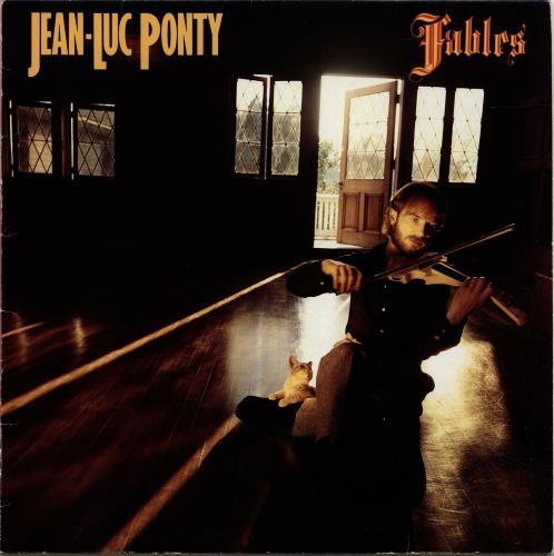 Jean-Luc Ponty Fables vinyl LP album (LP record) German JA7LPFA698820
