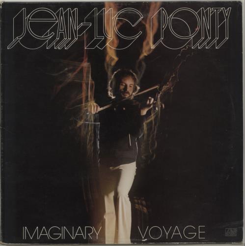 Jean-Luc Ponty Imaginary Voyage vinyl LP album (LP record) UK JA7LPIM409444