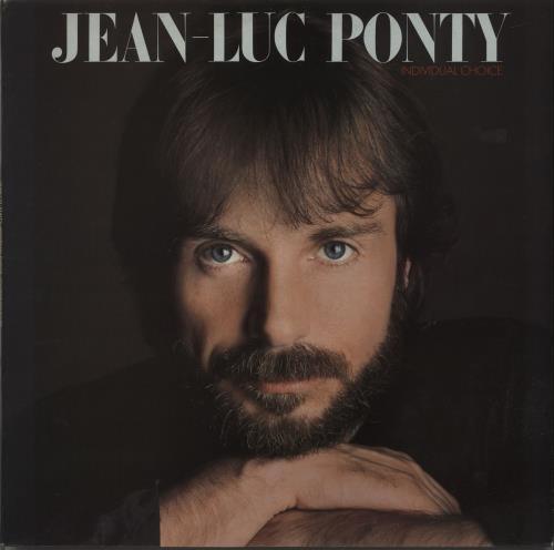 Jean-Luc Ponty Individual Choice vinyl LP album (LP record) UK JA7LPIN663960